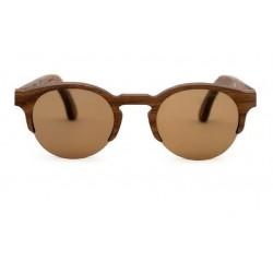Gafas de sol de madera Palens hechas a mano Birdi 1/2 walnut