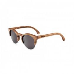 Gafas de sol Palens hechas a mano Birdi 1/2 Zebrawood