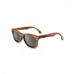 Gafas de sol de madera palens hechas a mano Waldi Zebrawood