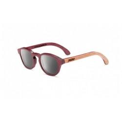Gafas de sol de madera hechas a mano Palens Gafas de sol de madera hechas a mano Palens Silvi Amaranto