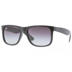 Gafas de sol Ray-Ban RB4165 JUSTIN 601/8G RUBBER BLACK grey gradient