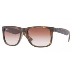 Gafas de sol Ray-Ban RB4165 JUSTIN 710/13 RUBBER LIGHT HAVANA BROWN GRADIENT