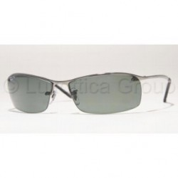 Gafas de sol Ray-Ban RB3183 TOP BAR 004/9A GUNMETAL POLAR GREEN