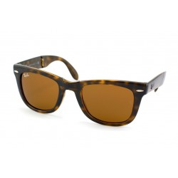 Gafas de sol Ray-Ban RB4105 FOLDING WAYFARER 710 LIGHT HAVANA