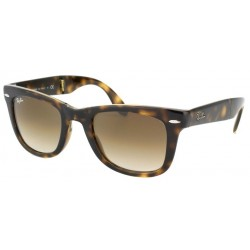 Gafas de sol Ray-Ban RB4105 FOLDING WAYFARER 710/51 LIGHT HAVANA