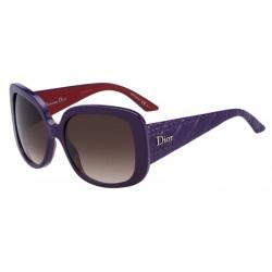 Gafas de sol Dior DIORLADYLADY1 EWL (JS) VIOLETRED (BROWN SF)