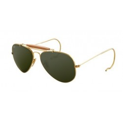 Gafas de sol Ray-Ban RB3030 OUTDOORSMAN L0216 ARISTA CRYSTAL GREEN