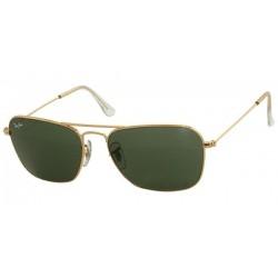 Gafas de sol Ray-Ban RB3119 CARAVAN 001 ARISTA CRYSTAL GREEN