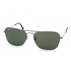 Gafas de sol Ray-Ban RB3119 CARAVAN 004 GUNMETAL CRYSTAL GREEN
