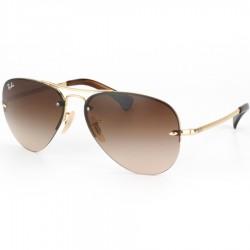 Gafas de sol Ray-Ban RB3449 HIGHSTREET 001/13 ARISTA BROWN GRADIENT