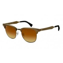 Gafas de sol Ray-Ban RB3507 CLUBMASTER ALUMINUM 139/85 BRUSHED BRONZE/GUNMETAL LIGHT BROWN