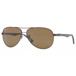 Gafas de sol Ray-Ban RB8313 CARBON FIBRE 014/N6 BROWN CRYSTAL POLAR BROWN