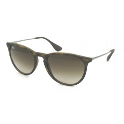 Gafas de sol Ray-Ban RB4171 ERIKA 865/13 RUBBERIZED HAVANA BROWN GRADIENT
