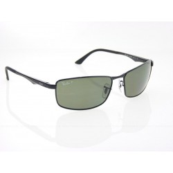 Gafas de sol Ray-Ban RB3498 ACTIVE LIFESTYLE 002/9A BLACK POLAR GREEN