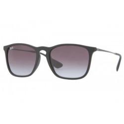 Gafas de sol Ray-Ban RB4187 CHRIS 622/8G RUBBER BLACK GREY GRADIENT
