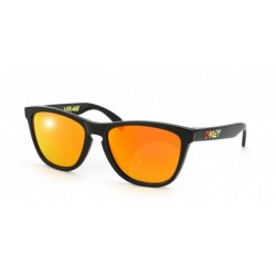 Gafas de sol Oakley OO9013 FROGSKINS 24-325 POLISHED BLACK (VR/46) FIRE IRIDUM