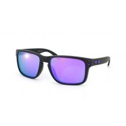 Gafas de sol Oakley OO9102 HOLBROOK 910226 MATTE BLACK (JULIAN WILSON) VIOLET IRIDIUM