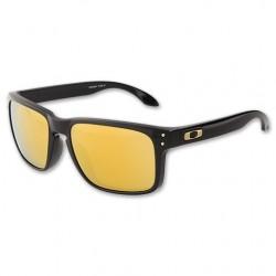 Gafas de sol Oakley OO9102 HOLBROOK 910208 POLISHED BLACK (S WHITE SS) 24K IRIDIUM