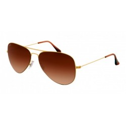 Gafas de sol Ray-Ban RB3513 AVIATOR FLAT METAL 149/13 DEMI GLOSS SAND GOLD BROWN GRADIENT