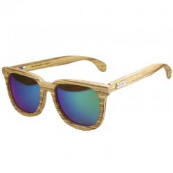 Gafas de sol de madera Feler Charles Zebrano