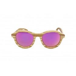 Gafas de sol de madera Feler Juliet zebrano