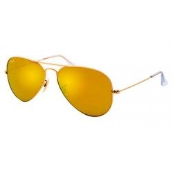 Gafas de sol Ray Ban Sun RB3025 AVIATOR LARGE METAL 112/93 MATTE GOLD