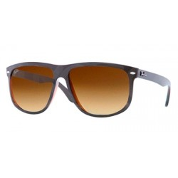 Gafas de sol Ray Ban Sun RB4147 HIGHSTREET 609585 TOP BLACK ON BROWN