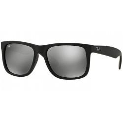 Gafas de sol Ray Ban Sun RB4165 JUSTIN 622/6G RUBBER BLACK
