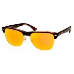 Gafas de sol Ray Ban Sun RB4175 CLUBMASTER OVERSIZED 609269 MATTE HAVANA