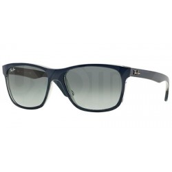 Gafas de sol Ray Ban Sun RB4181 HIGHSTREET 613671 TOP MATTE BLU ON TRASP GREY