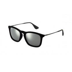 Gafas de sol Ray Ban Sun RB4187 CHRIS 60756G FLOCK BLACK