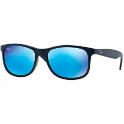 Gafas de sol Ray Ban Sun RB4202 YOUNGSTER 615355 SHINY BLUE ON MATTE TOP