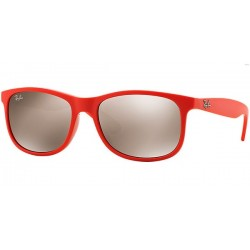 Gafas de sol Ray Ban Sun RB4202 YOUNGSTER 61555A SHINY CORAL ON MATTE TOP