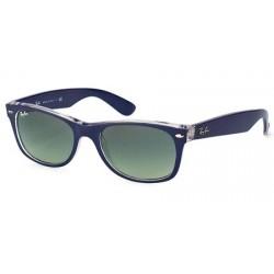 Gafas de sol Ray Ban Sun RB2132 NEW WAYFARER 605371 TOP MATTE BLUE ON TRASPARENT