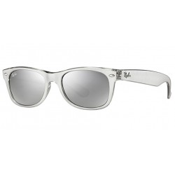 Gafas de sol Ray Ban Sun RB2132 NEW WAYFARER 614440 TOP BRUSHED SILVER ON TRASP