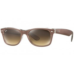 Gafas de sol Ray Ban Sun RB2132 NEW WAYFARER 614585 TOP BRUSHED BROWN ON TRASP