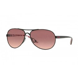 Gafas de sol OAKLEY OO4079 FEEDBACK 407913 POLISHED BLACK (BREAST CANCER)