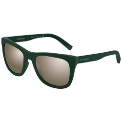 Gafas de sol DOLCE Y GABBANA DG2145 SPORTY INSPIRED 12656G GREEN RUBBER