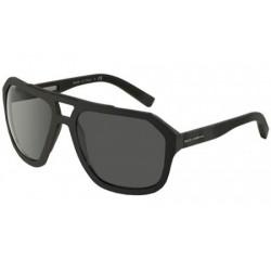 Gafas de sol DOLCE Y GABBANA DG2146 SPORTY INSPIRED 117987 BLACK RUBBER