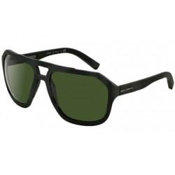 Gafas de sol DOLCE Y GABBANA DG2146 SPORTY INSPIRED 126571 GREEN RUBBER