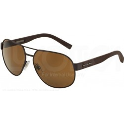 Gafas de sol DOLCE & GABBANA DG2147 SPORTY INSPIRED 127483 BROWN RUBBER