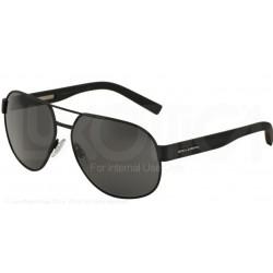 Gafas de sol DOLCE & GABBANA DG2147 SPORTY INSPIRED 126087 BLACK RUBBER