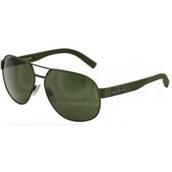 Gafas de sol DOLCE & GABBANA DG2147 SPORTY INSPIRED 127571 GREEN RUBBER