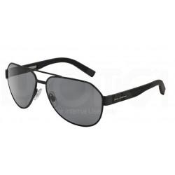 Gafas de sol DOLCE & GABBANA DG2149 SPORTY INSPIRED 126081 BLACK RUBBER