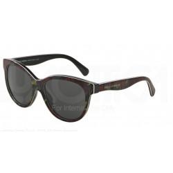 Gafas de sol DOLCE & GABBANA DG4176 MATT SILK 293887 TOP ROSE ON BLACK