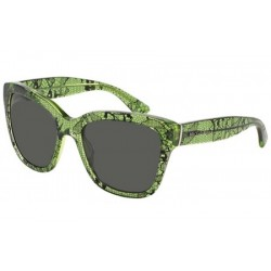 Gafas de sol DOLCE & GABBANA DG4226 LACE 297587 CHANTILLY LACE/TR GREEN