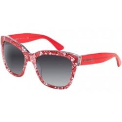 Gafas de sol DOLCE & GABBANA DG4226 LACE 28528G RED LACE