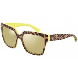 Gafas de sol DOLCE & GABBANA DG4234 ENCHANTED BEAUTIES 28616G TOP LEO ON YELLOW