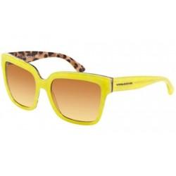 Gafas de sol DOLCE & GABBANA DG4234 ENCHANTED BEAUTIES 28842L TOP OPAL YELLOW/LEO