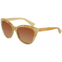 Gafas de sol DOLCE & GABBANA DG4250 DNA 274713 LEAF GOLD ON IVORY